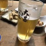 大甚 - 生ビール アサヒスーパードライ