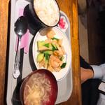 中華居酒屋 三国 - 特製海鮮チャンプル定食