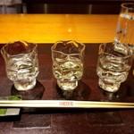 Oryouriookurano - 日本酒3種飲み比べ