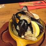 SCHMATZ - ムール貝とあさりのビール蒸し