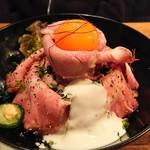 イベリコ豚おんどる焼 裏渋屋 - 豚のコンフィ丼1,300円