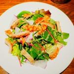 98804386 - 和牛トリッパと新鮮野菜のサラダ仕立て