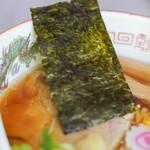 東京ラーメン本丸 - 東京拉麪(とうきやうらあめん)、紫菜乾(のり)