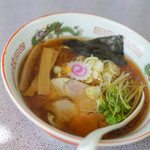 東京ラーメン本丸 - 料理写真:東京拉麪(とうきやうらあめん)