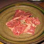 ホルモン焼肉 びっくりや - 和牛の塩ハラミ