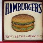 ONE - HAMBURGERS 美味しそう!!