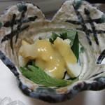 旬魚たつみ - 赤バイの酢味噌和え