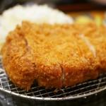 はせ川 - 料理写真:極上ロースかつ