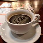 98813704 - ランチセットのホットコーヒー