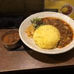 98815275 - ぷちカレー(ビーフジンジャーマサラ)、麻婆豆腐咖喱~kiwami~