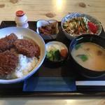 平野屋 - 料理写真:ソースかつ丼
