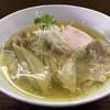 らぁめん サンド - 料理写真:鶏塩そばワンタン麺