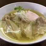 98818010 - 鶏塩そばワンタン麺