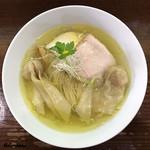 98818011 - 鶏塩そばワンタン麺