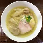 98818013 - 鶏塩そばワンタン麺