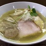 98818015 - 鶏塩そばワンタン麺