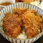 金重 - ソースヒレかつ丼 850円