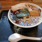 橋立 くじからラーメン - 料理写真:2018年12月 くじからチャーシューメン大盛(850円)