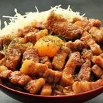 the肉丼の店のルーロー飯