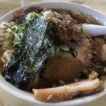 味の大西 - 料理写真:焼豚ワンタン麺 1050円