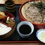 東京亭 - 料理写真:さる蕎麦弁当。
