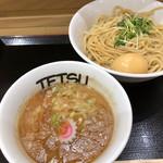 つけめんTETSU - 味玉つけめん 910円。