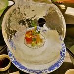 日本料理 対い鶴 - お造り