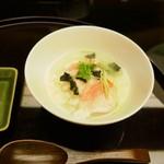 日本料理 対い鶴 - 金目鯛茶漬け