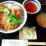 いなだ - 料理写真:「カツ丼」918円