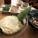 惣菜居酒屋 わく味 - 蒸しあげわく味豆腐