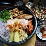 麺のようじ - 石焼カレー坦々和え麺