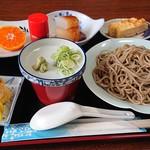 手打ちそば 趣味の店 - 料理写真:ラーメン&そばセット(そば)
