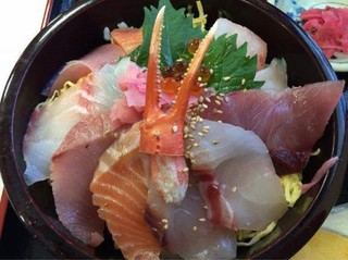 お食事処 かいがん - 「特上海鮮丼」