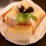 喫茶ガボール - コロナの玉子サンドイッチ・元味