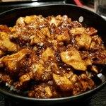 炎麻堂 - ミニ麻婆豆腐丼です