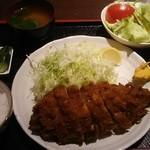 みづま - ロースカツ 1,350円 ご飯セット 270円