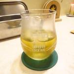 串処 絆 - 緑茶梅酒