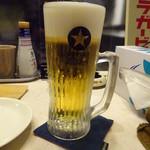 串処 絆 - 生ビール