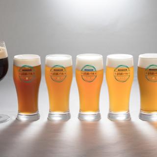 大田区唯一無二のブルワリー直送クラフトビール!全8タップ!!