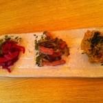 ダルマ食堂 - おまかせアテ盛り 3種