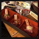 大衆酒場 五郎 - 新 鶏レバ刺し 三味盛り
