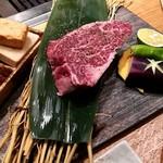広島の黒毛和牛焼肉専門店 肉亭いちゆく - ヒレステーキ