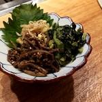 広島の黒毛和牛焼肉専門店 肉亭いちゆく - ナムル盛り合わせ