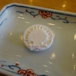 成田専蔵珈琲店 - 藩士の珈琲に付いた干菓子はお店のマークに!