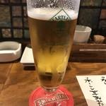 すきっぱー - 日替り生ビール  本日はハートランドなり