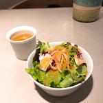 Sign - ランチセットのサラダ&スープ
