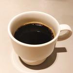 Sign - ランチセットのコーヒー