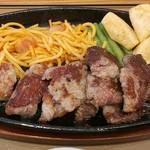 やよい軒 - 料理写真:カットステーキ定食 990円