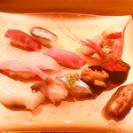 すし・海鮮玉寿司 - 握りのセット
