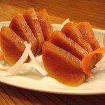 りん - 自家制カラスミ、日本酒のお好きなお客様に好評です。